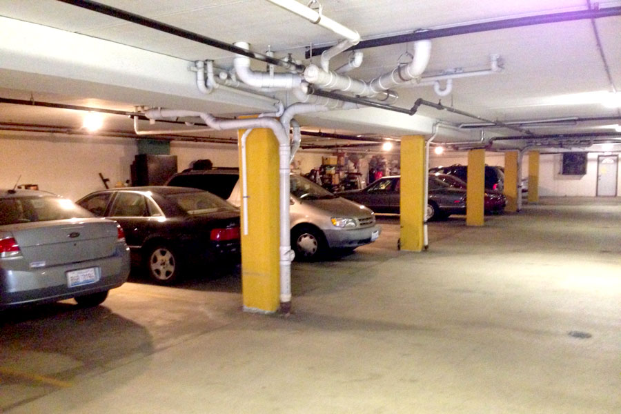underground parking for waukegan apartment